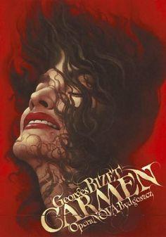 Wieslaw Walkuski. Carmen Poster