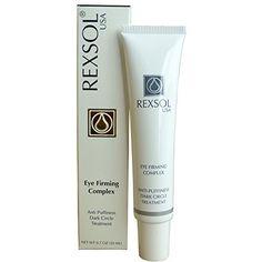 REXSOL Eye Firming Complex Anti-Puffiness & Dark Circle Treatment REXSOL http://www.amazon.com/dp/B00N6E5RLE/ref=cm_sw_r_pi_dp_Pbobub0DJ0QQH