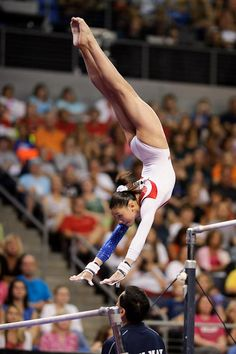 KYLA! She's my favorite from the fab five, I bet she'll be a world champion eventually!
