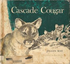 VINTAGE KIDS BOOK Cascade Cougar by HazelCatkins on Etsy, $10.00