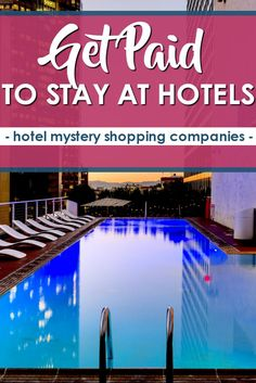 Ever wondered how you could get paid to evaluate a hotel stay? Look no further.