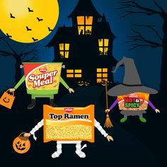 The real monsters are the people that steal your Nissin… Happy Halloween, everyone!