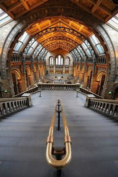 ARCHITECTURE – Natural History Museum, London, England photo via moyarte