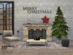 Sims 4 CC's - The Best: Christmas 2015 by Wondymoon