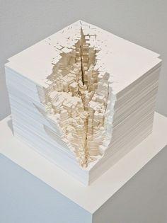 Noriko Ambe, A Piece of Flat Globe Vol. 37, 2014, Synthetic paper | Lora Reynolds Gallery