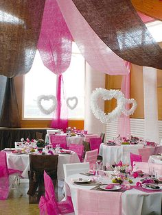 ... Mariage on Pinterest  Housse Chaise Mariage, Decoration Salle Mariage