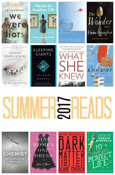 Whether on vacation, by the pool, or staying up late at night to read just one more chapter, something about the summer lends itself to having a long list of to-be-read books. I wanted to give you another list for books to read this summer.