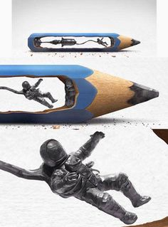 Pencil art <3 #creative #art #sculpture