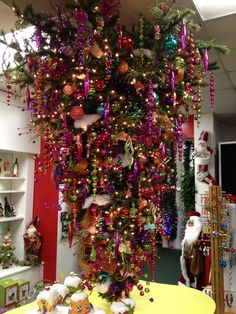 Upside Down Christmas Tree Meaning | upside down GrinchMas Tree | City Lights Christmas Emporium