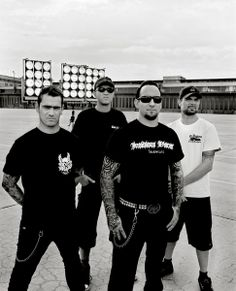 Volbeat..I dig how over the top Michael Poulsen's voice is