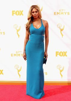 Laverne Cox at event of The 67th Primetime Emmy Awards (2015)