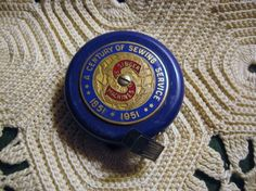 Vintage Singer Sewing Centennial Tape Measure Rare 1951