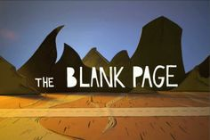 the Blank Page by George Metaxas. My first stop-motion animation, done totally in cardboard.