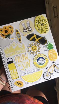 VSCO - relatableteenvsco s Laptop Stickers, Cute Stickers, Mac Stickers, Preppy Stickers, Tumblr Stickers, Aesthetic Stickers, Happy Colors, Mellow Yellow, My Favorite Color