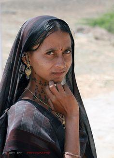 Inde - Gujarat - ગુજરાત Indian Woman Worldclass Image.