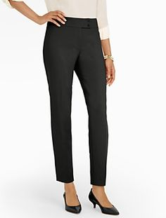 Talbots - Signature Tailored Crepe Ankle Pants | Ankle | Misses