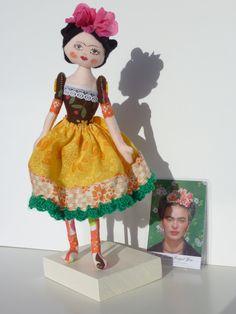 Frida Kahlo doll for my Eliza $40