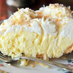 Old Fashioned Coconut Cream Pie ~ This is a tried-and-true, old-fashioned coconut cream pie. Took many years of searching and baking to find the right one and this is it!