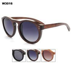 30389346a5e Half Frame Bamboo Sunglass 2015 Fashion Wooden Sunglasses Men Women ...