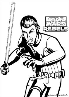 Chopper Star Wars Coloring Pages. Star Wars Rebels coloring picture  Coloring for kid Pinterest War and Pictures