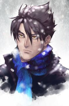 That scarf has lovely shades of blue. Jin Kazama, Drawing Base, Fighting Games, Street Fighter, No One Loves Me, Love Is All, Shades Of Blue, Game Art, Devil