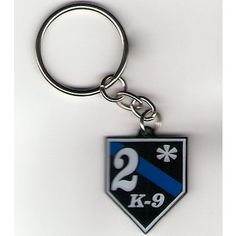 """""""BECAUSE YOU HAVE 2 ASSes-TO-RISK!"""" FrontLine Design's 2* K-9 Thin Blue Line Keychain was designed to remind law enforcement professionals to be safety conscious on the job. This keychain looks great and adds a little touch of humor to a very high risk profession. #OfficeStore"""