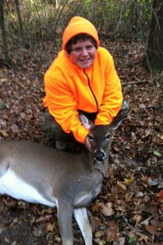 Chandler's 1st deer. :)