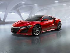 Acura is moving to reinvent itself with the reintroduction of its Ferrari-fighting NSX supercar at the North American International Auto Show in Detroit on Monday. New Nsx, New Acura Nsx, 2017 Acura Nsx, Honda Civic, New Honda, Ferrari, Lamborghini, Honda Nsx 2015, Bugatti