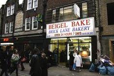 Hmmmm, Bagels on Brick Lane, London