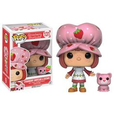 Strawberry Shortcake and Custer Scented Pop! Vinyl Figures