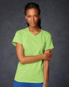 Anvil - Ladies Heavyweight V-Neck T-Shirt - $3.83 ➜ clothingshoponline.com   #shop #wholesale #prices #blank #apparel #tshirt #supplier #discount #designer #brands #deals #clothing