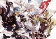 PloyBaKa (@chiaki_phantom) | ทวิตเตอร์ Illusion, Touken Ranbu Mikazuki, Manga Anime, Anime Art, Sword Art Online, Pose Reference, Princess Zelda, Kawaii, Poses