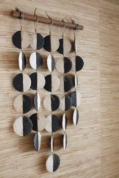macrame plant hanger+macrame+macrame wall hanging+macrame patterns+macrame projects+macrame diy+macrame knots+macrame plant hanger diy+TWOME I Macrame & Natural Dyer Maker & Educator+MangoAndMore macrame studio Clay Wall Art, Ceramic Wall Art, Clay Art, Ceramic Pottery, Kintsugi, Clay Projects, Clay Crafts, Suncatcher, Paperclay
