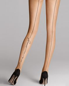Who would not 'love' these... Wolford: Love Tights