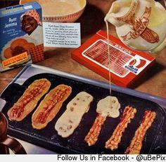 Don't go bacon my heart...