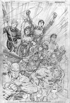 Justice League 001 Jim Lee