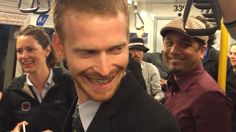 So sweet; this sort of thing should happen every day, everywhere. --Train Passengers Sing Over the Rainbow!