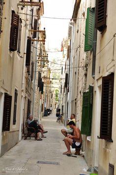Croatia Pag – Kroatien Stadt Pag| Casa di Falcone