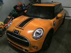 Restriped my Mini today Mini Cooper Stripes, Vw Beetles, Bmw, Cars, Vehicles, Ideas, Autos, Volkswagen Beetles, Thoughts