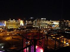 View from Voodoo Lounge in the Rio #Vegas