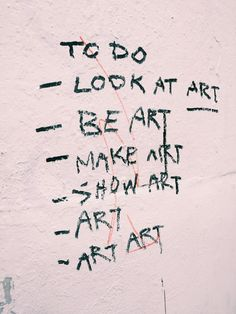 art art art - look at it enough, the word becomes strange