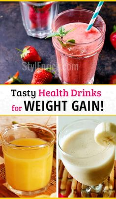 Weight Gain Shakes :Tasty Health Drinks for Weight Gain