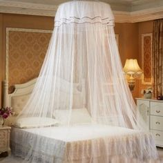 "Universe of goods - Buy ""Palace MosquitoNet ciel de lit canopy Bed tent Room Decor Lace Mosquito Net Baldachin Dekoration Foldable No Need To Install"" for only USD."