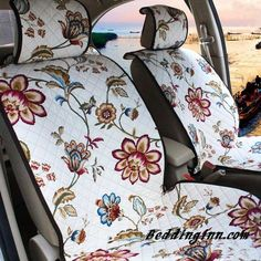 Have a look towards this high quality embroidered soft fashionable car seat cover. Diy Seat Covers, Custom Seat Covers, Car Covers, Car Accessories For Guys, Wrangler Accessories, Car Seat Cover Pattern, African Shop, Girly Car, Wayfair Living Room Chairs