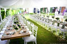 Lush Green ~ Garden Marquee Wedding | Evergreen Garden Venue | Styled By Sugar and Spice Events