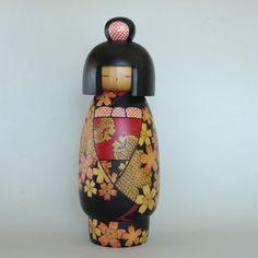 Vintage Japanese Sosaku Kokeshi Doll