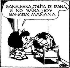 Mafalda, la nena mas inteligente del Mundo. Sera Sueca??