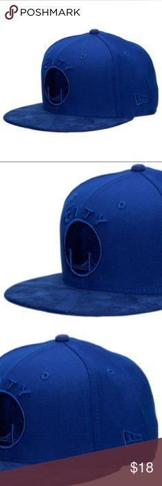 NWT New Era Golden State Warriors NBA Retro Hat Honor the iconic Retro 12 and your favorite NBA team with the good looks and clean lines of the New Era NBA Retro 12 Hook Snapback Hat. Dressed to impress with the eye-catching royal blue covering the visor and old school team logo embroidered at the front, this hat celebrates retro hoops style. Classic construction and an adjustable snapback round out this essential NBA fan hat. MATERIAL: 100% polyester TYPE: Snapback New Era Accessories Hats