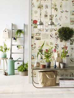 paper de pared florit