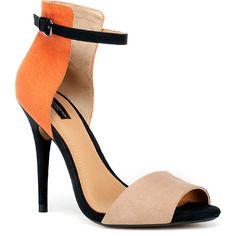 Zara Basic Sandal ($20) ❤ liked on Polyvore